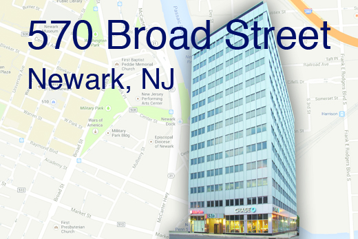 570 Broad Street, Newark, NJ - Office Space Available