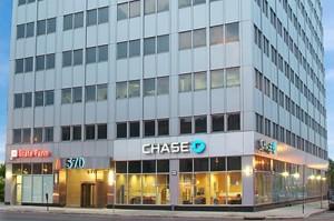 office building in 570 Broad Street, Newark